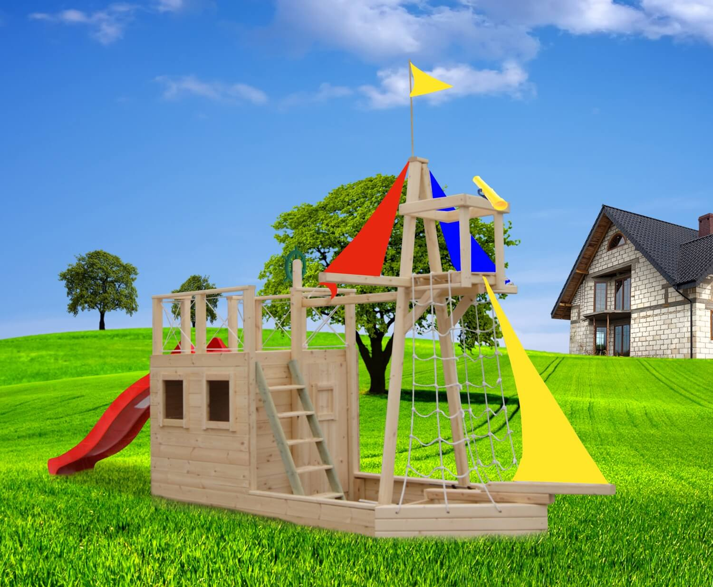 Детская площадка дома картинки